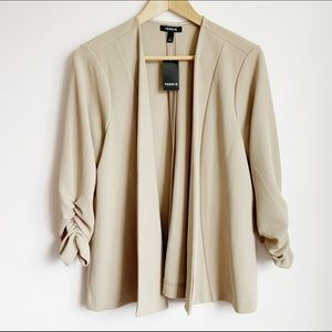 torrid drape front knit blazer size 1X or 14-16